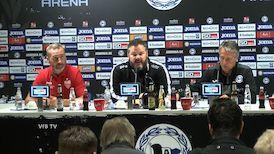 Pressekonferenz: Arminia Bielefeld - VfB Stuttgart