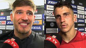 Die VfB Interviews nach dem Spiel bei Arminia Bielefeld