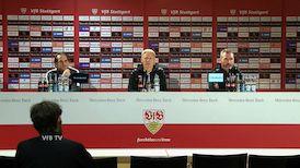 Pressekonferenz: VfB Stuttgart - SV Wehen Wiesbaden