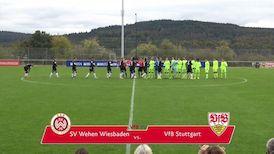 Highlights U17: SV Wehen Wiesbaden - VfB Stuttgart