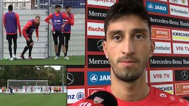 Atakan Karazor in der Länderspielpause