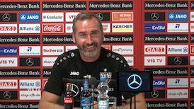 Die Pressekonferenz vor dem Heimspiel gegen Holstein Kiel