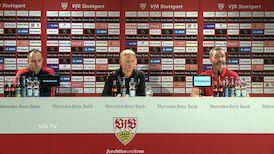 Pressekonferenz: VfB Stuttgart - Holstein Kiel