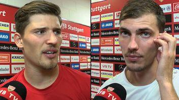 Die Interviews nach dem Heimspiel gegen Kiel