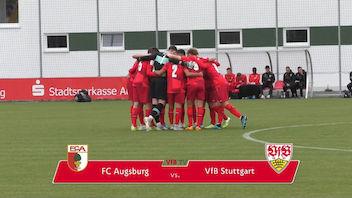 Highlights U19: FC Augsburg - VfB Stuttgart