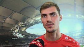 Pascal Stenzel am Tag nach dem HSV-Spiel