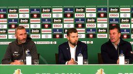 DFB-Pokal Pressekonferenz: Hamburger SV - VfB Stuttgart