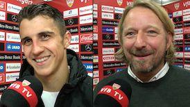 Die Interviews nach dem Match gegen Dresden