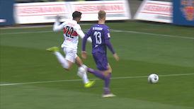 1. Halbzeit: VfL Osnabrück - VfB Stuttgart