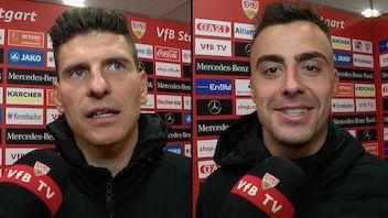 Die Interviews nach dem Derby gegen den KSC