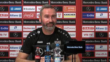 Die VfB PK vor dem Auswärtsspiel in Sandhausen