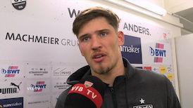 Gregor Kobel nach dem Spiel in Sandhausen