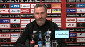 Die Pressekonferenz vor dem Spiel gegen Nürnberg