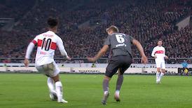 1. Halbzeit: VfB Stuttgart - Nürnberg