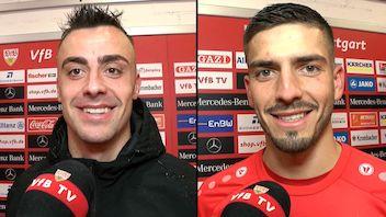 Die Interviews nach dem Spiel gegen Nürnberg