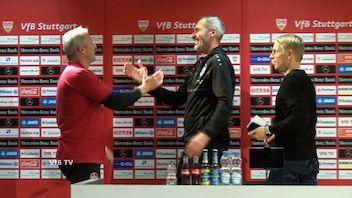 Pressekonferenz: VfB Stuttgart - 1. FC Nürnberg