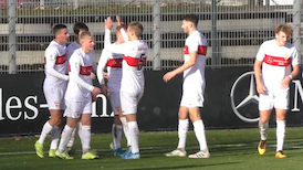Highlights DFB-Pokal U19: VfB Stuttgart - VfL Bochum