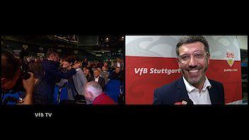 VfB Präsident Claus Vogt im Interview