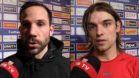 Die Interviews nach dem Spiel beim SV Darmstadt 98