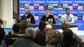 Pressekonferenz: SV Darmstadt 98 - VfB Stuttgart