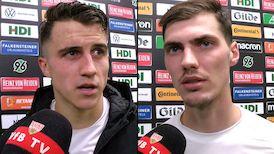 Die Interviews nach dem Spiel bei Hannover 96