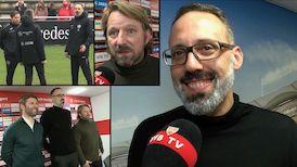Pellegrino Matarazzo und Sven Mislintat im Interview