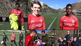Der Sonntag in Marbella mit Luca Mack und Maxime Awoudja