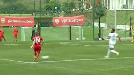 2. Hälfte: VfB Stuttgart – MOL Fehérvár