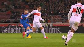 1. Halbzeit: VfB Stuttgart - Heidenheim