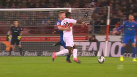 2. Halbzeit: VfB Stuttgart - Heidenheim