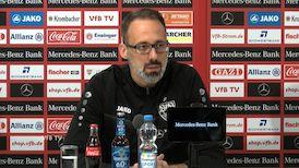 Die Pressekonferenz vor dem Spiel beim FC St. Pauli