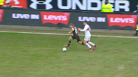 2. Halbzeit: FC St. Pauli - VfB Stuttgart
