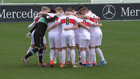 Highlights U19: VfB Stuttgart - Kickers Offenbach