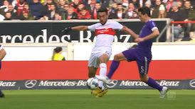 2. Halbzeit: VfB Stuttgart - Aue