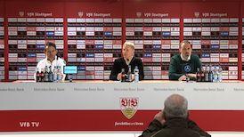 Pressekonferenz: VfB Stuttgart - FC Erzgebirge Aue