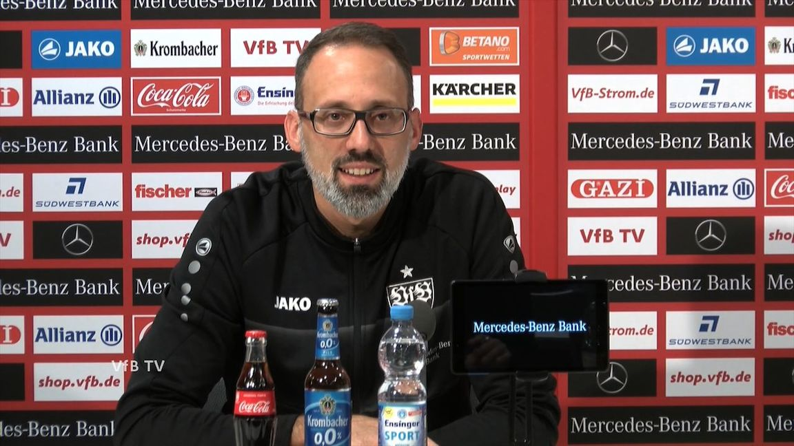 Die PK vor dem Montagsspiel beim VfL Bochum