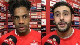 Die Interviews nach dem Heimspiel gegen Regensburg
