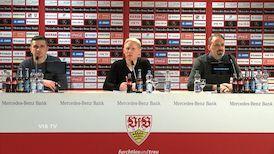 Pressekonferenz: VfB Stuttgart - SSV Jahn Regensburg