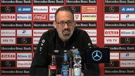Die Pressekonferenz vor dem Spiel in Fürth