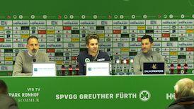 Pressekonferenz: SpVgg Greuther Fürth - VfB Stuttgart
