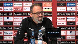 Die Pressekonferenz vor dem Heimspiel gegen Bielefeld