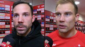 Die Interviews nach dem Match gegen Arminia Bielefeld