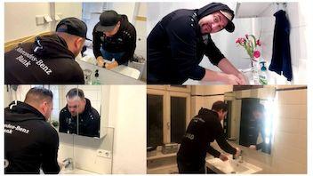 Wir waschen unsere Hände – Für immer VfB!