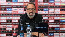 Pellegrino Matarazzo vor dem Spiel in Wiesbaden