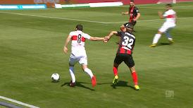 1. Halbzeit: SV W. Wiesbaden - VfB Stuttgart
