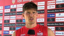 Gregor Kobel am Tag nach dem Spiel in Wiesbaden
