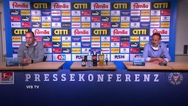 Pressekonferenz: Kieler SV Holstein - VfB Stuttgart