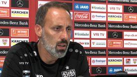 Das Video-Pressegespräch vor dem Spiel gegen den Hamburger SV