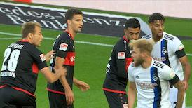 2. Halbzeit: VfB Stuttgart - Hamburger SV