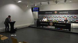 Pressekonferenz: Dynamo Dresden - VfB Stuttgart